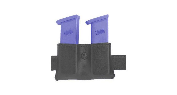 Safariland Concealment Magazine Holder, Snap-On, Double magazine Basket Weave