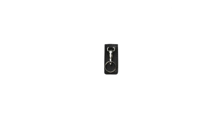 HI RIDE KEY HLDR BLK BW