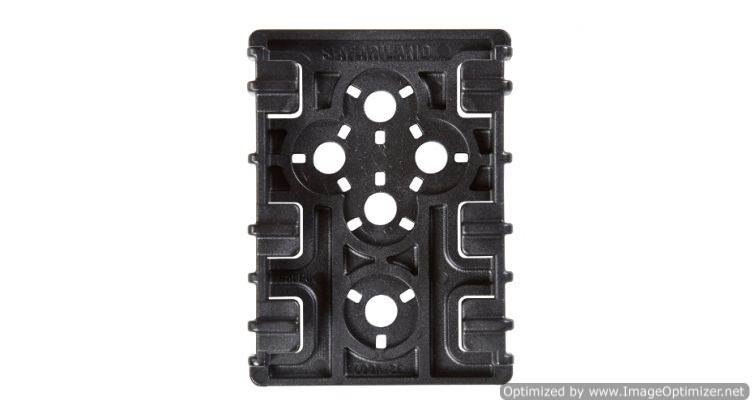 EQ LOCKING PLATE 2EA - BLK