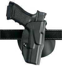Safariland Automatic Locking System Paddle Holster Left Hand
