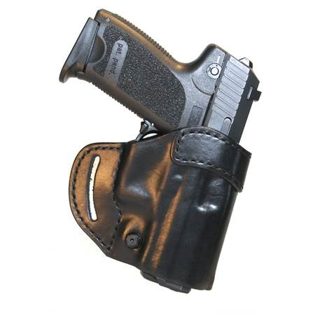 BlackHawk Check-six Leather Concealment Holster-Left Hand (BH-420503BN-L)