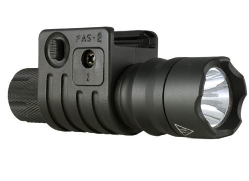 Fas2 - Flashlight Mount Surefire Or Any 1 Inch Diameter (quick Detach) - Scorched Dark Earth