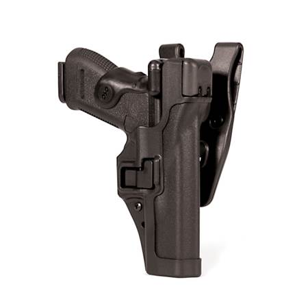 BlackHawk Level 3 Serpa Auto Lock Duty Holster-Left Hand (BH-44H116PL-L)