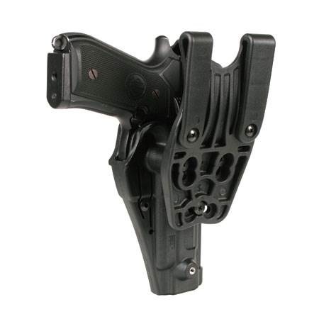 BlackHawk Level 3 Serpa Auto Lock Duty Holster-Left Hand (BH-44H100BW-L)