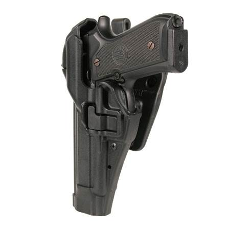 BlackHawk Level 3 Serpa Auto Lock Duty Holster-Left Hand (BH-44H100PL-L)
