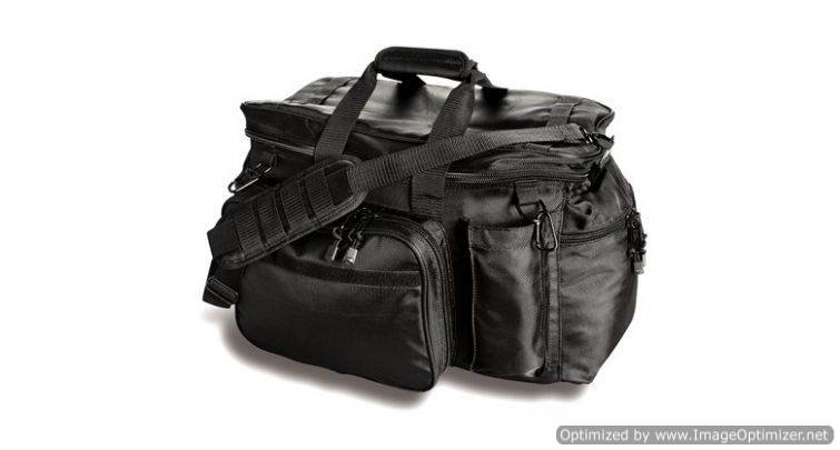 Side-Armor Patrol Black Bag