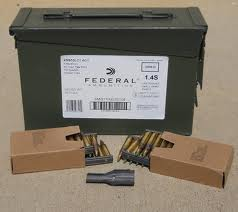 AMERICAN EAGLE 556 855 Green Tip Ammo on Clips in Cans of 420