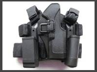 Thumb Operated Holsters