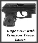 Ruger LCP with Crimson Trace Laser