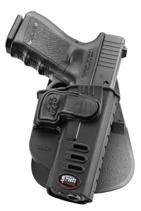 Glock 22 CH Rapid Release System Level 2 Paddle holster Left Hand