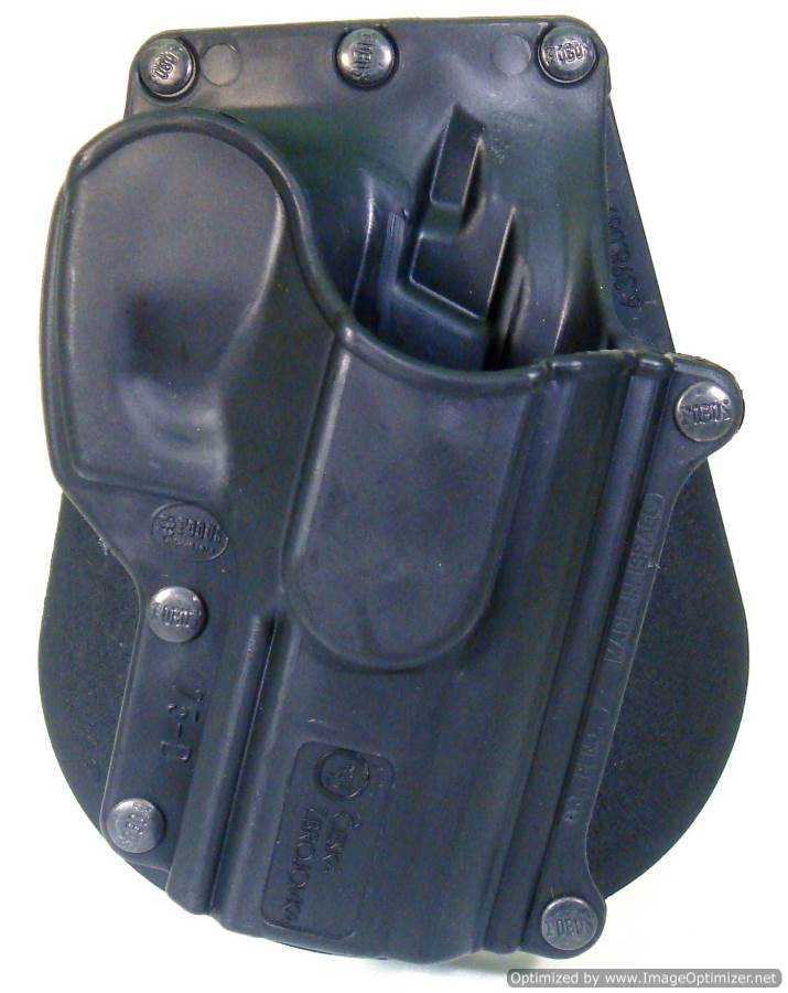 CZ 75BD Paddle Holster