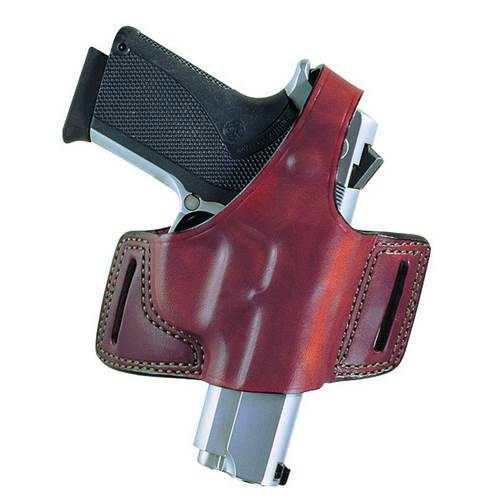 Glock 19 Bianchi Model 5 Black Widow™ Holster Left Hand Plain Black