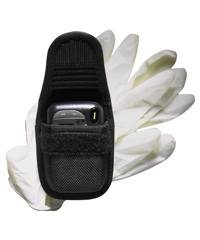 Accumold® Pager/Glove Holder Black / Hidden Snap