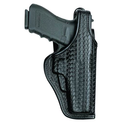 Glock 19 Bianchi Model 7920 Accumold® Elite™ Defender® II Duty Holster Plain Black Left Hand