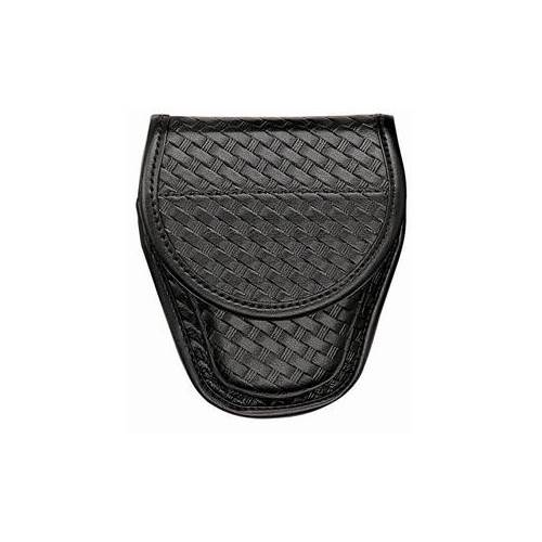 Accumold® Elite™ Covered Handcuff Case Size 1 Basket Black