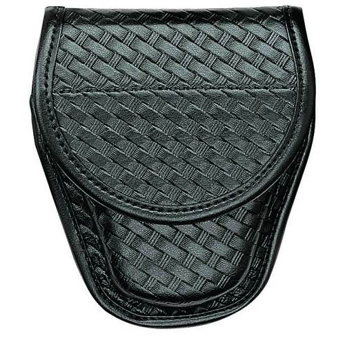 Accumold® Elite™ Covered Handcuff Case Size 1 Basket Black / Brass
