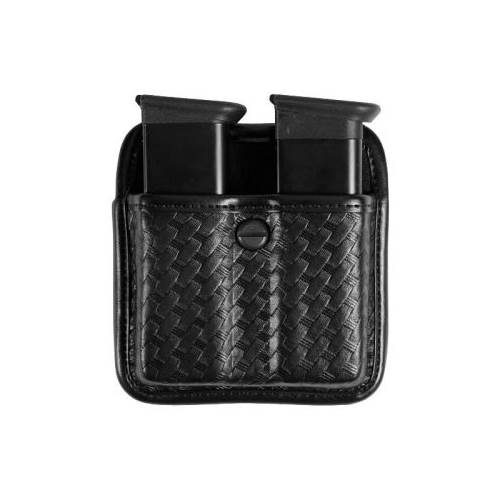 Sig Sauer P228 Accumold® Elite™ Triple Threat™ II Double Magazine Pouch Basket Black Size 02