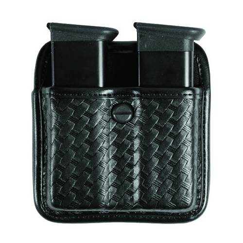 Sig Sauer P228 Accumold® Elite™ Triple Threat™ II Double Magazine Pouch Plain Black Size 02