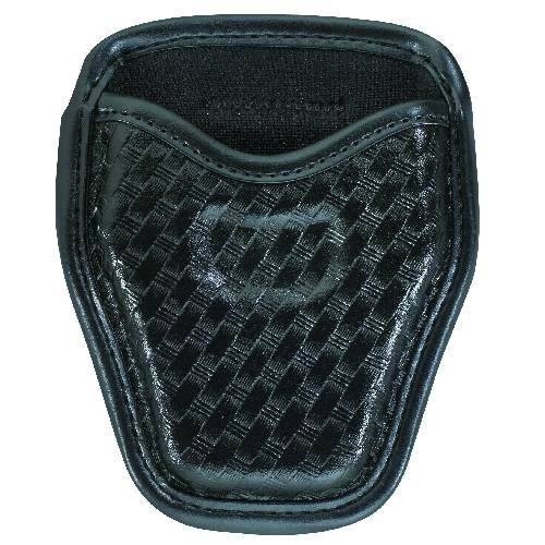 Accumold® Elite™ Open Top Handcuff Case Plain Black