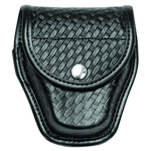 Accumold® Elite™ Ultimate Hinge Handcuff Case Basket Black / Chrome