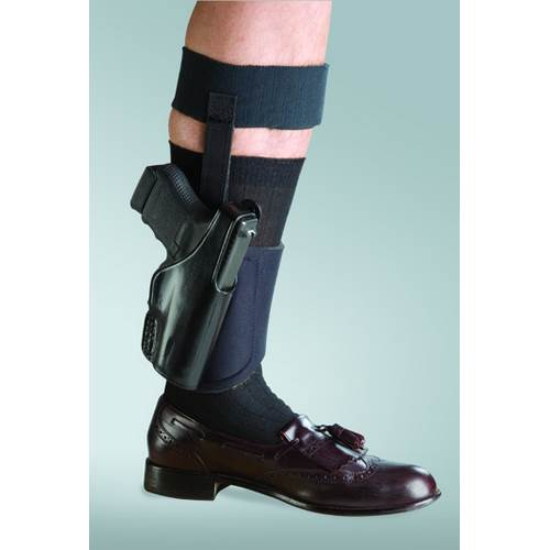150 - Negotiator Ankle Holster For Smith & Wesson 36, 60 and Similar J Frame Models