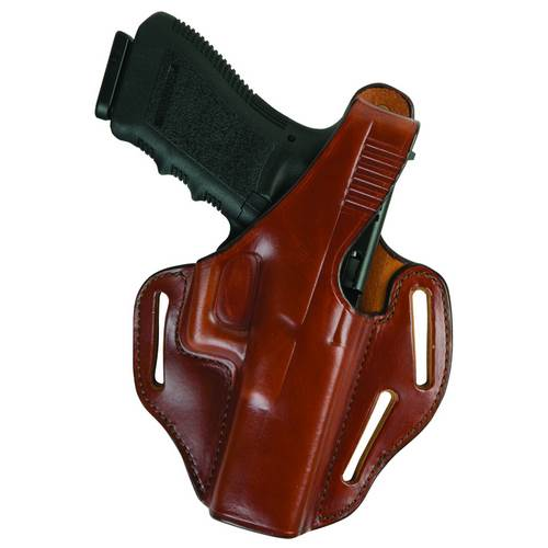 Glock 19 Bianchi Model 77 Piranha™ Pancake-style Holster Plain Tan