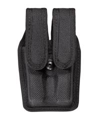 Smith & Wesson 6904 Accumold� Slimline Double Magazine Pouch Size 2 Balck / Hidden