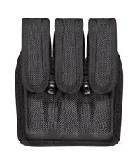 Smith & Wesson 6904 Accumold� Slimline Triple Magazine Pouch Size 2 Black / Hidden