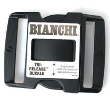 "Bianchi 90060 Replacement Tri-release Accumold Buckle For 2-1/4"" Belt"
