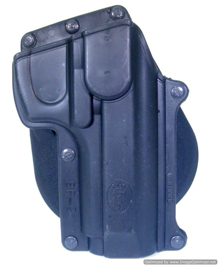CZ 75B .40 Paddle Holster