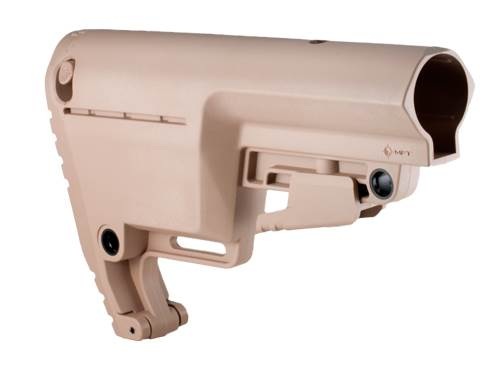 BULSMIL - Battlelink™ Utility Low Profile Stock - Flat Dark Earth