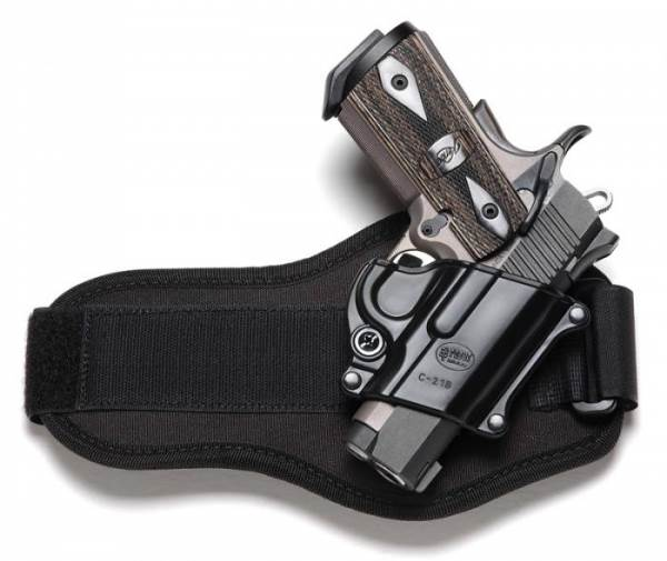 Fobus Compact Ankle Holster (C21BA) for All 1911 Style Handguns