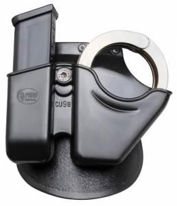 Smith & Wesson 6906 - Handcuff / Magazine Combo Paddle Pouch