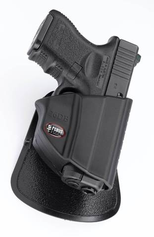 Glock 27 Compact Thumb Lever Roto-Belt Holster
