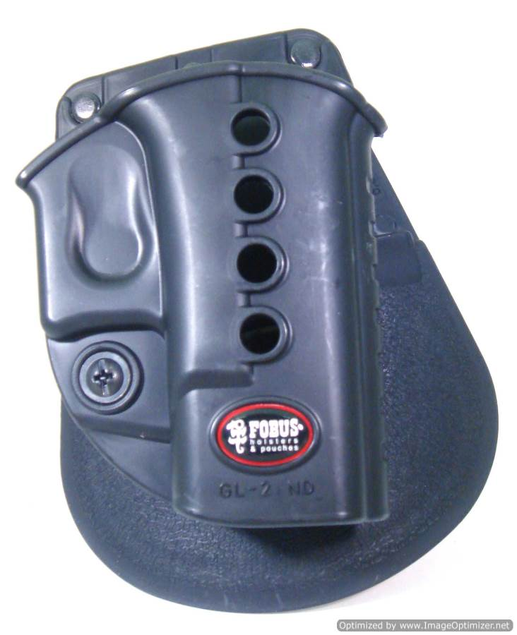 Glock 19 Evolution Paddle Holster