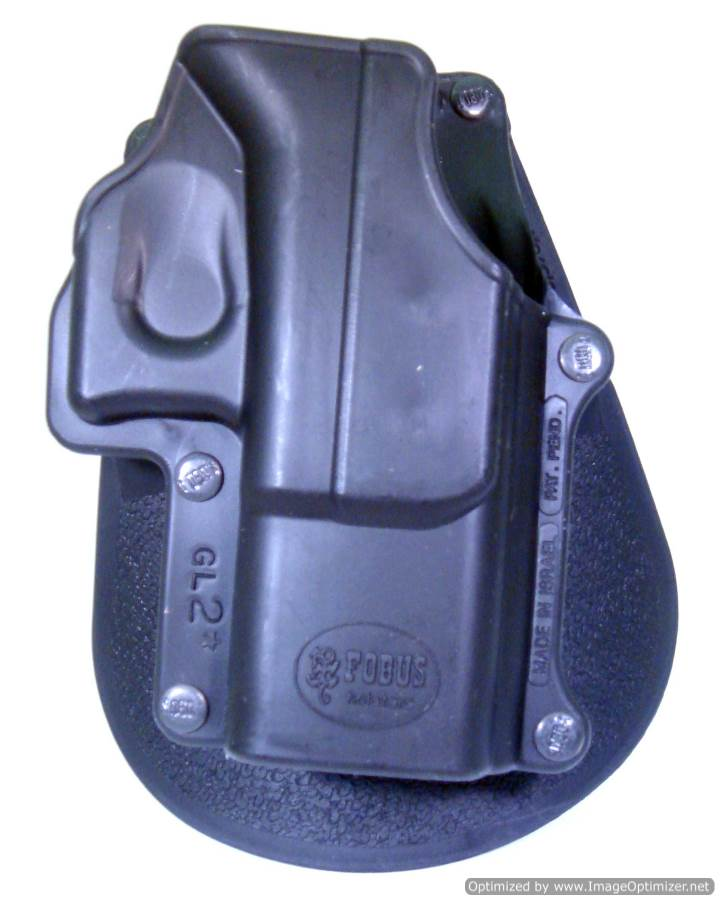 Glock 35 Paddle Holster