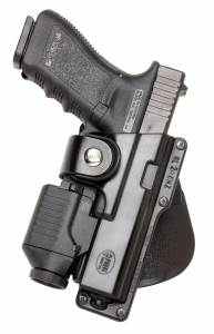 Glock 22 Tactical Left Hand Roto Paddle Holster