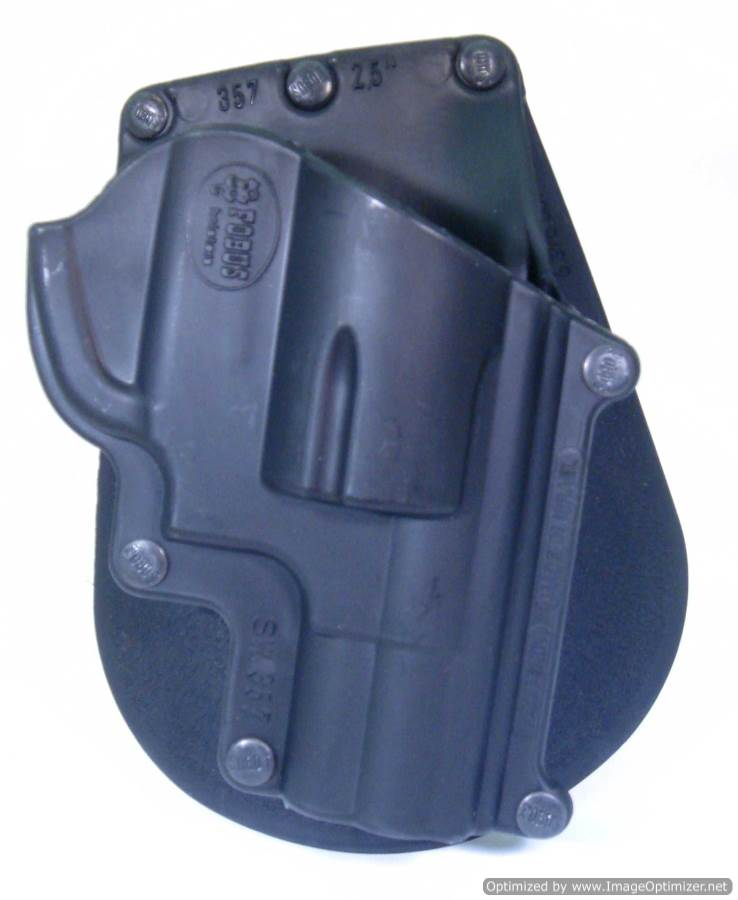 Smith & Wesson 5 Shot J Frame .357 Paddle Holster