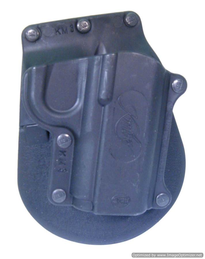 "1911 Style Kimber 4"" Non Rail Paddle Holster"