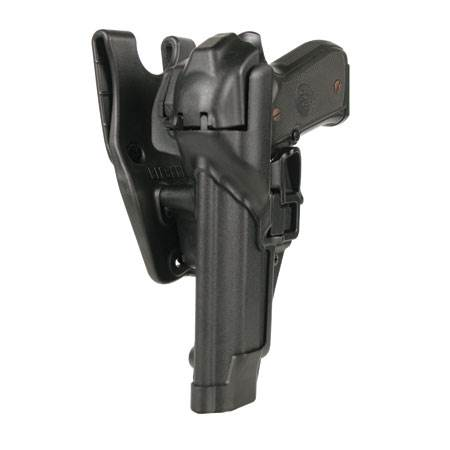BlackHawk Level 3 Serpa Auto Lock Duty Holster-Left Hand (BH-44H103BK-L)