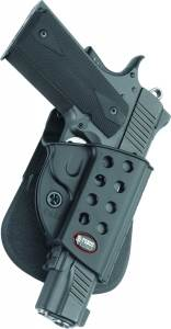 1911 Style Full Size Evolution Roto Paddle Holster With Rail