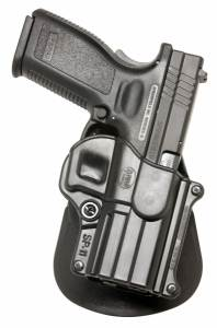 "Springfield Armory HS2000 .357 5"" 4"" 3"" Left Hand Roto-Paddle Holster"