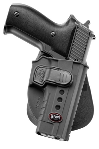 Fobus Belt Holster (SGCHBH) for Sig Sauer P220, P226, P227 later production models with wider trigger guards only